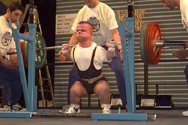 Most times of squat weight than body weight