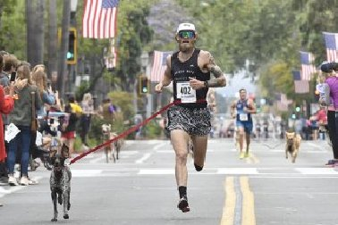 Fastest mile with a dog