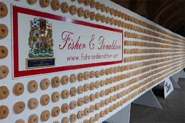 Largest doughnut wall