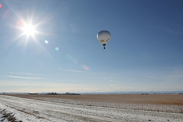 Highest small hot-air-balloon flight (female)