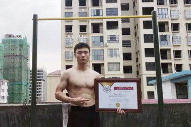 Most consecutive muscle ups (male)